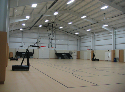 Basketball Court in Community Center- ACi Construction Project