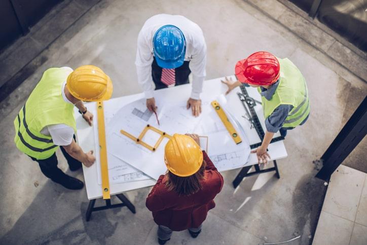construction team planning