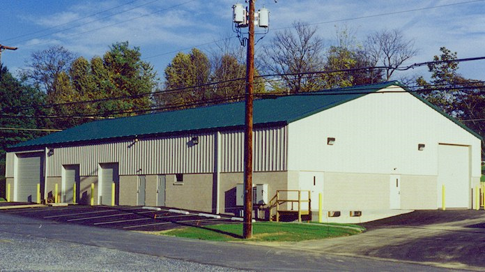 ACi Construction Specialty Building Project- Completed Outside of Warehouse