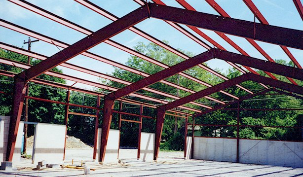 ACi Construction Specialty Building Project- Steel Frame