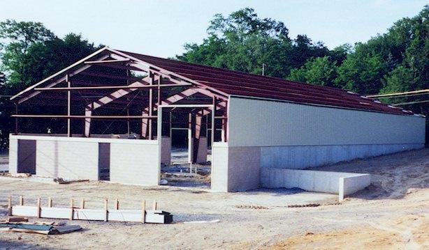 ACi Construction Specialty Building Project- Building Warehouse