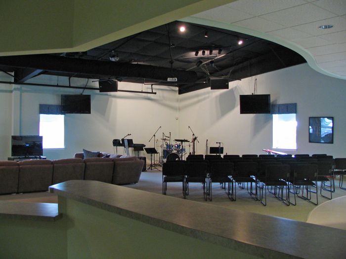 Central Schenkfelder Church, Meeting Area- ACi Construction Project