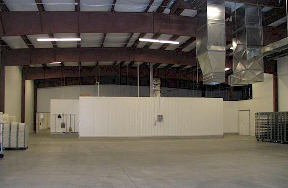 Wagner Family: Interior View - Warehouse and Rack Storage Area