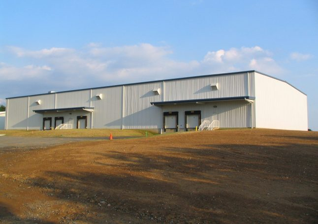 24,000 sq ft Warehouse and Cold Storage with Insulated Panels